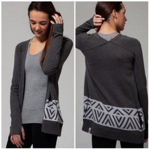 Ivivva Girls Lululemon Go Places Cardigan Sweater
